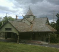 Victorian Train Station, Oradel, NJ