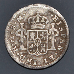1775 Spanish half reale