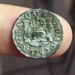 1742 Spanish Half Reale (Mexico Mint)